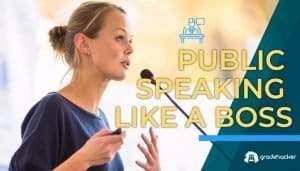 Public Speaking Like a Boss