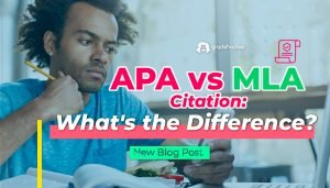 APA vs. MLA Citation What's the Difference