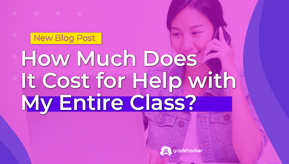 How Much Does It Cost for Help with My Entire Class?