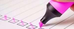 Nursing School Prerequisite Checklist