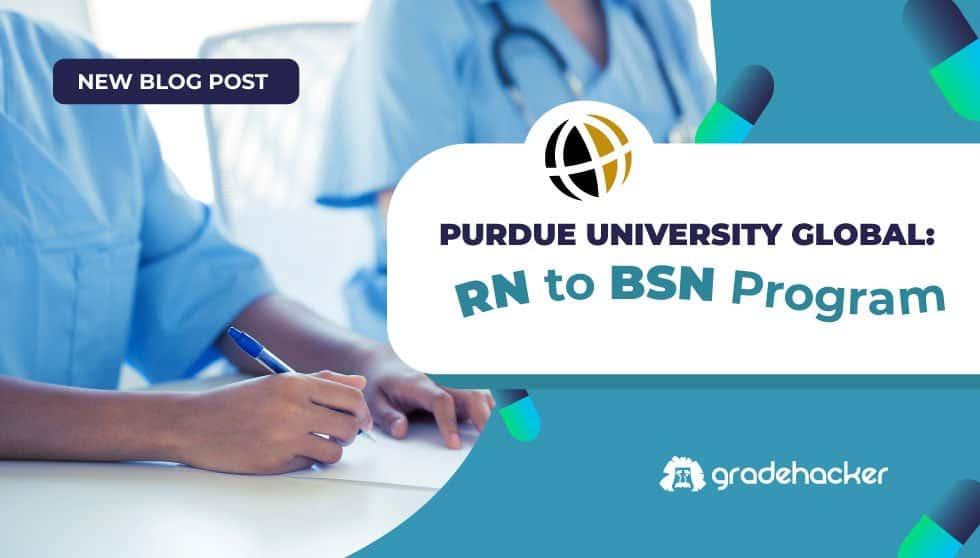 Purdue University Global: RN-to-BSN Program