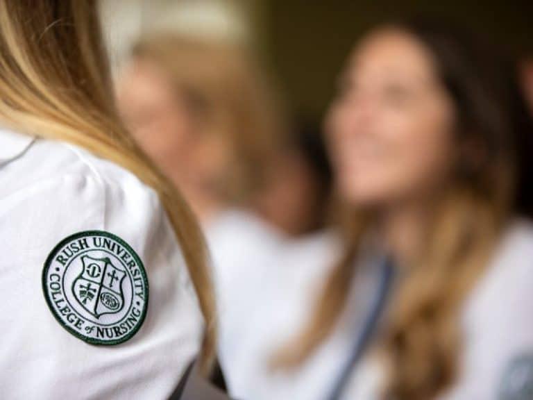 Rush University College Nursing Students