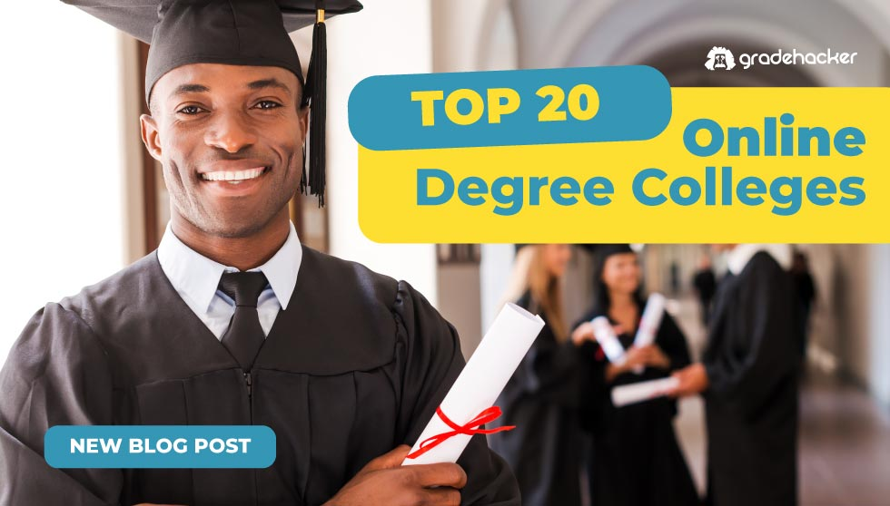Top 20 Online Degree Colleges