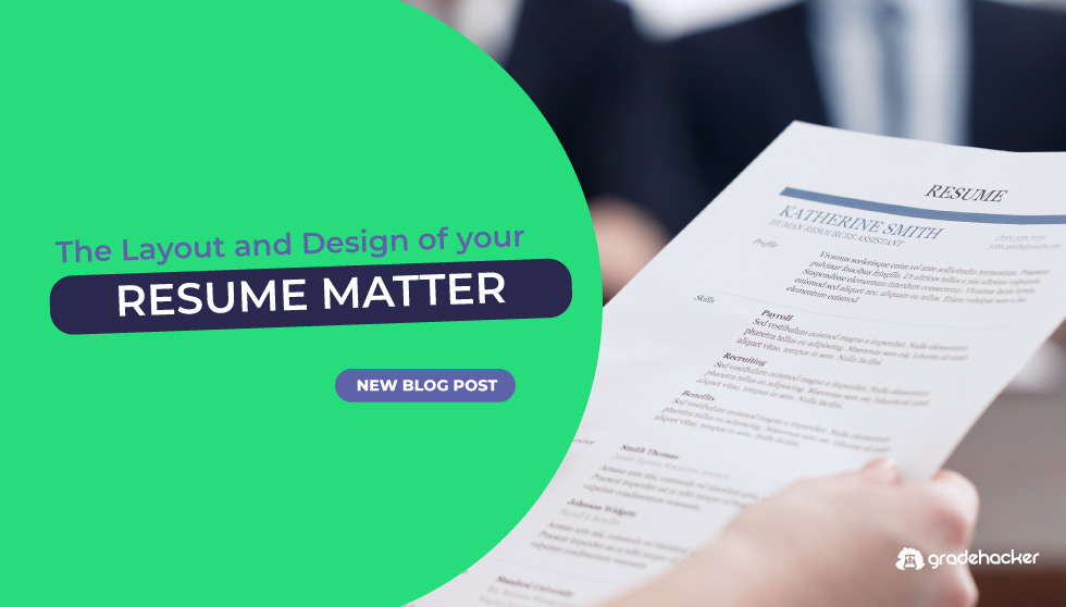 The Importance Of Design For Your Resume